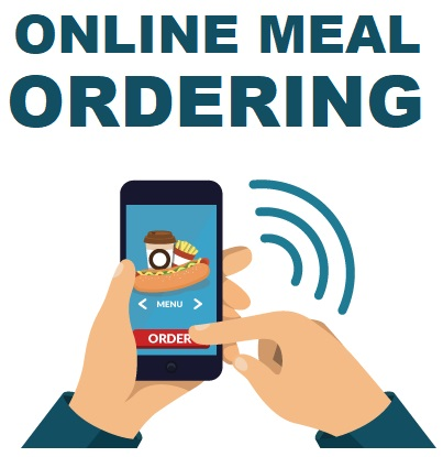 Button for online ordering